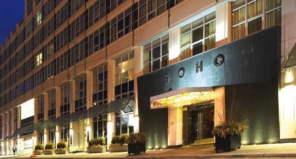 The SOHO Metropolitan Hotel in Toronto
