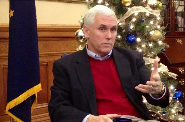 "Indiana Gov. Mike Pence isn't giving many specifics on his 2014 legislative agenda, saying he wants ""to give legislators the broadest possible range to develop how they think this might work best giving consideration to all of the interests involved."""