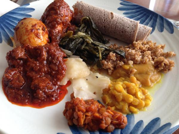 WBOI food columnist Amber Recker says the Ethiopian cuisine at Queen of Sheba in Fort Wayne is worth the trip.