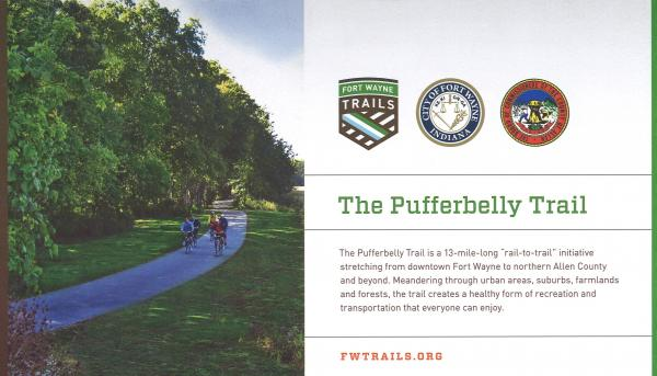 City officials and trail advocates broke ground on the next section of the Pufferbelly Trail this month.