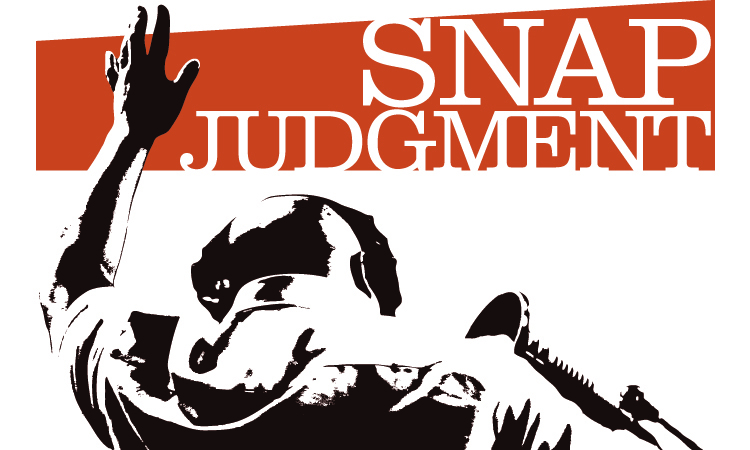 snap judgements Snap judgments psychological test reveals hidden bias on this test, you can't really cheat or lie in fact, it's impossible to even know how you're answering the questions.