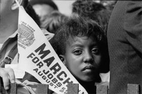 Civil Rights marcher