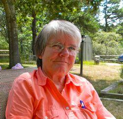 Brenda Boleyn, retired biology professor and the chairperson of the Cape and Islands Lyme Disease Task Force.