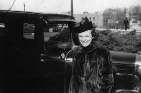 Future South Yarmouth resident Pearl Hardaway Reese in 1939.