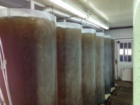Algae tanks at ARC.