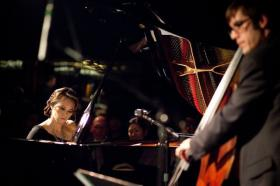 The Yoko Miwa Trio is among the groups performing at Jazzfest Falmouth this year.
