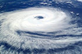 Satellite Picture of a Hurricane