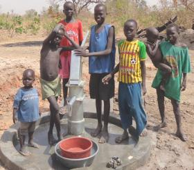 $110 buys the supplies to install a community water pump