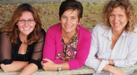 From Left: Alecia Orsini, Heather Goldstone, Jenny Junker