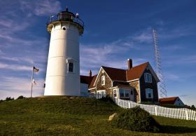 The light keeper's house, adjacent to Nobska lighthouse, may be put put up for sale.