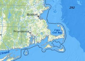 Map of East Coast