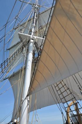 The Charles W. Morgan sails again.