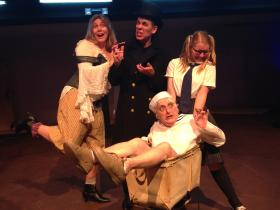 Moby Dick!, the Musical, opens this weekend at Cotuit Center for the Arts this weekend.