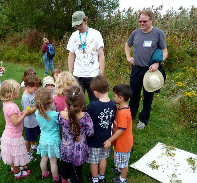 Kindergarteners learned about insects at a 2006 BioBlitz event in Woods Hole. BioBlitzes are intensive biodiversity surveys powered by volunteers.