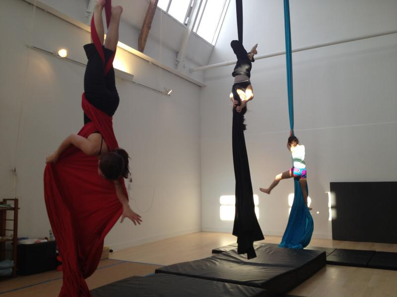 Teresa feels that circus arts can help people overcome their fears