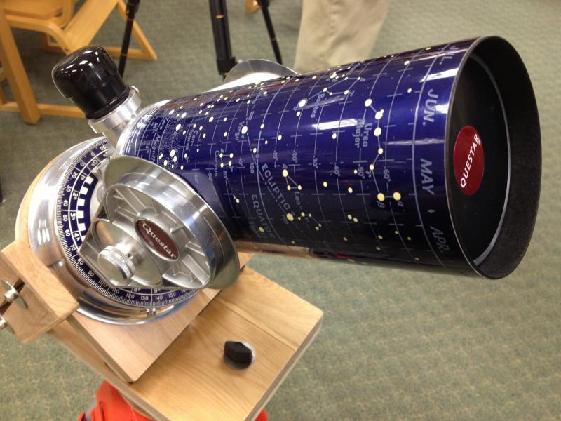 One of the more fancy and expensive telescopes out was the Questar telescope.