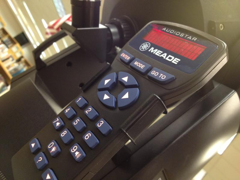 Remote for the Meade LX90 ACF Telescope