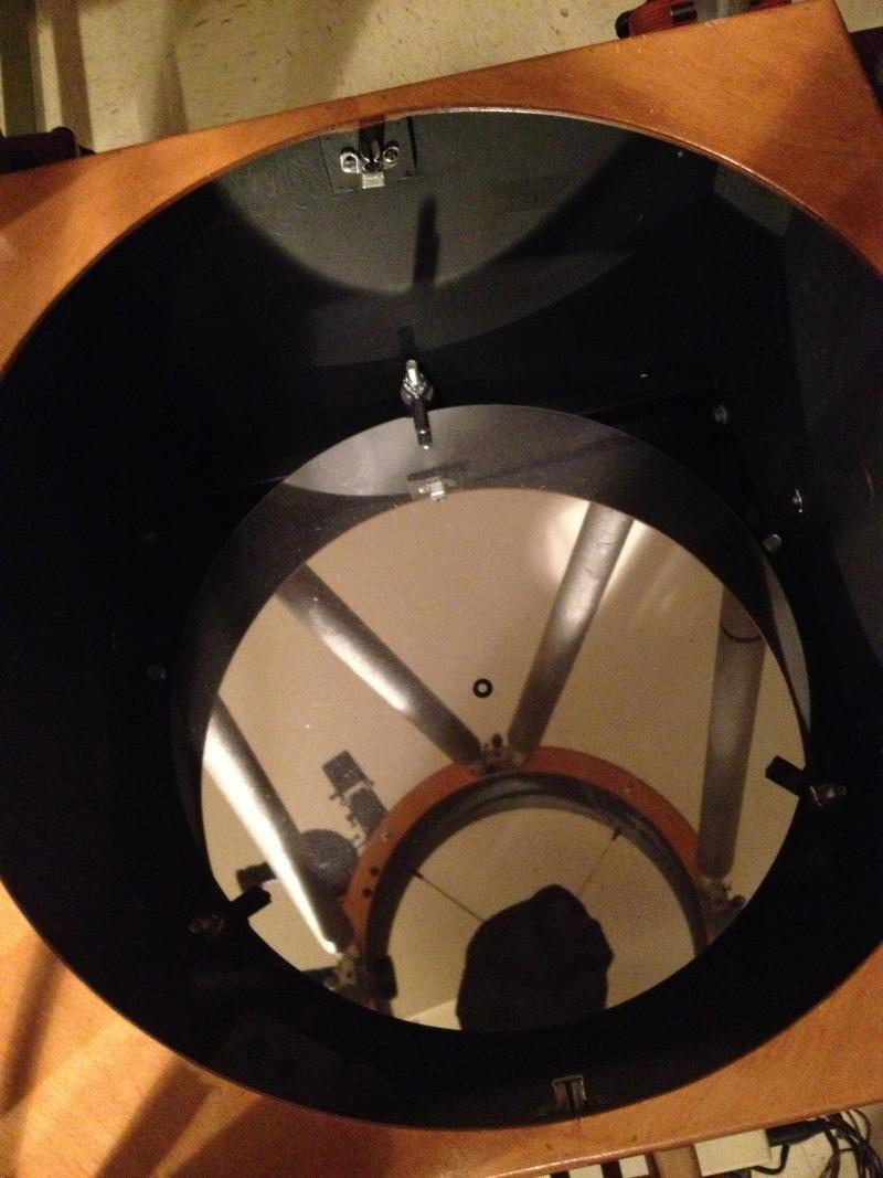 Mirror of the 18inch Reflection Telescope at the Werner Schmidt Observatory