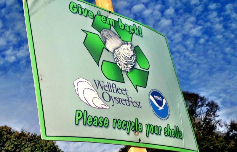 Recycle the Shells: The Shell Recycling effort is a collaboration between SPAT, the National Oceanic Atmospheric Administration Fisheries Service, the Town of Wellfleet, the US Department of Agriculture, and the Mass Oyster Project.