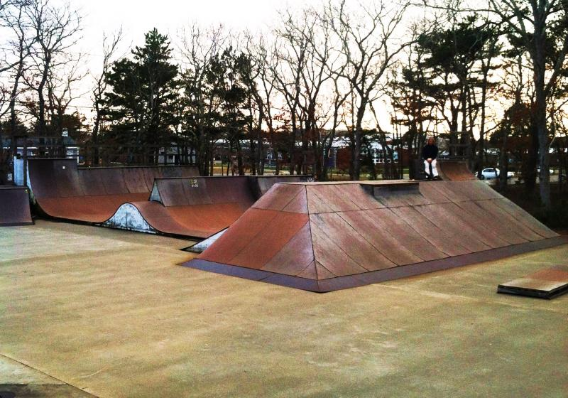 The only skate park on Martha's Vineyard is in need of a replacement