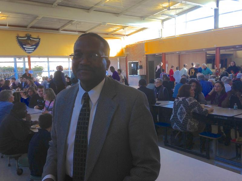 George Spivey at the MLK breakfast