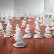 Sculptor Rebecca Kamen creates art that helps scientists make cross-disciplinary connections.