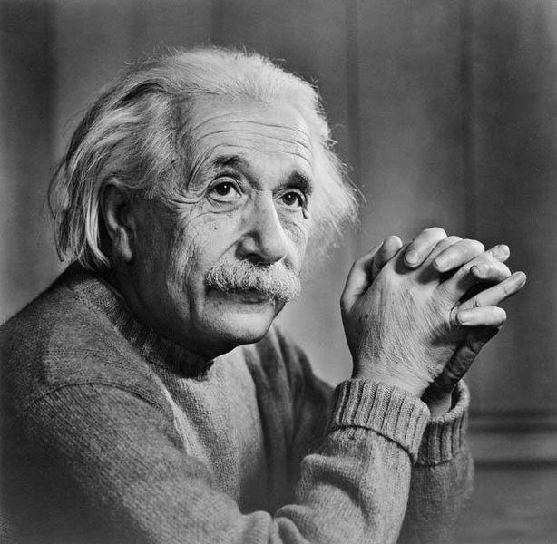 Albert Einstein, 1879-1955.