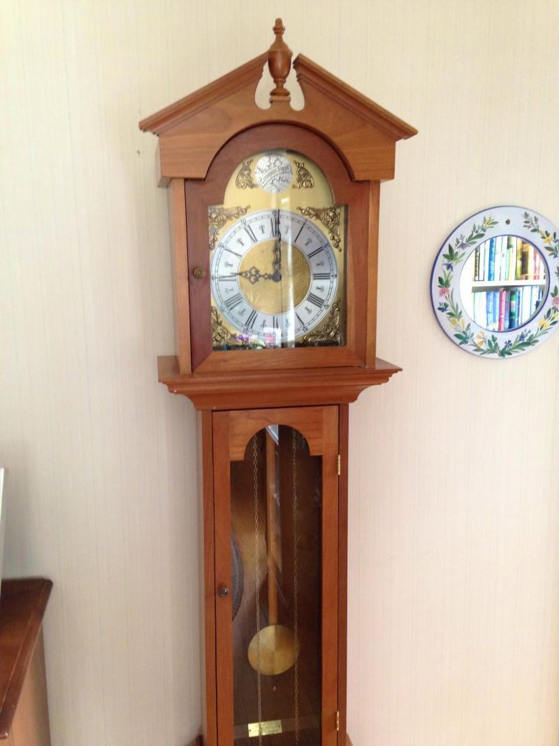 Grandmother clock made by Hal Purington