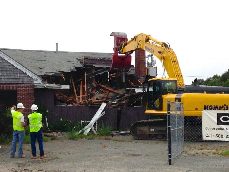 The Demolition Begins