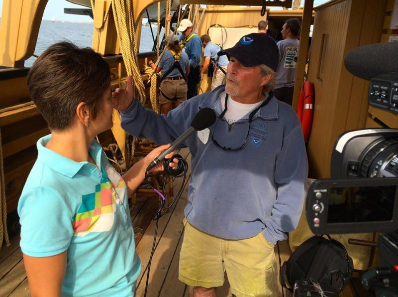 Heather talks with Dave Wiley