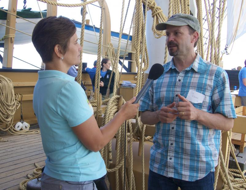 Heather interviews Joe Roman