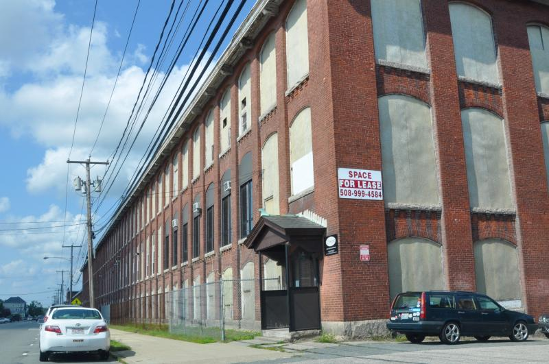 Textile mill exterior, New Bedford