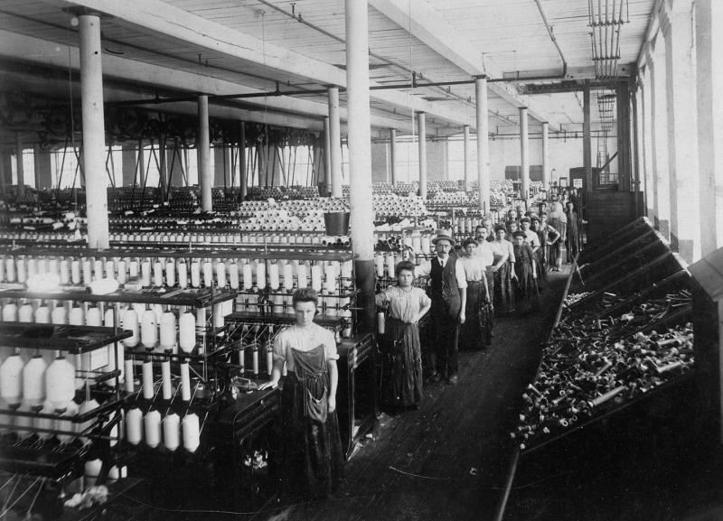 Textile workers, New Bedford