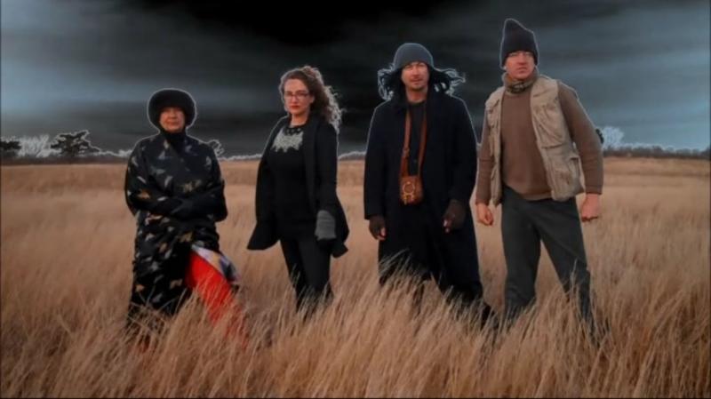 The Death Masters - Ursula Austin, Ingrid Feeney, Kris Feeney, Caleb Kardell.