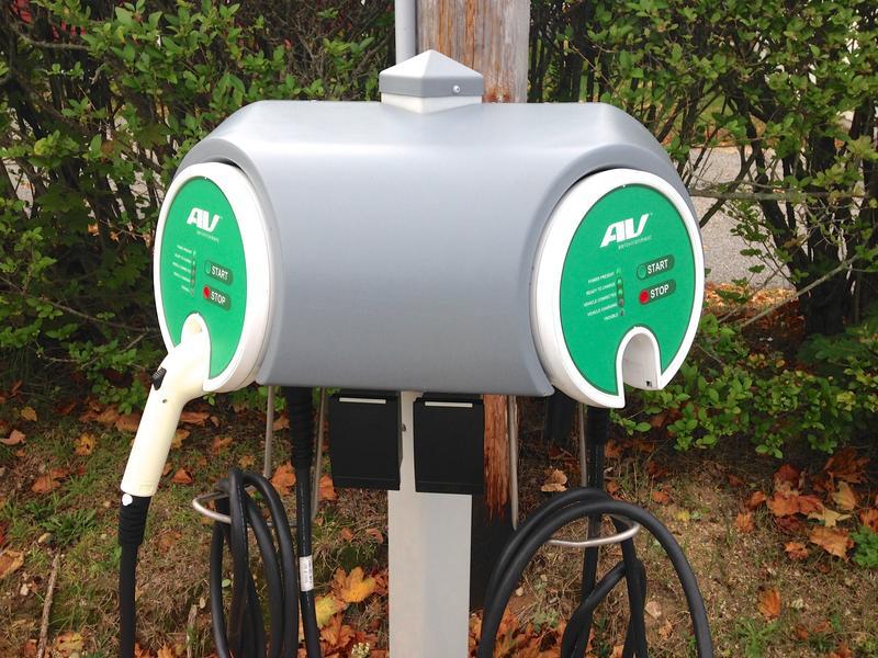 EV charging station in Barnstable