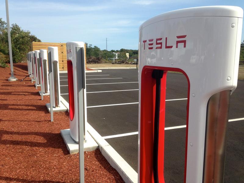 Tesla charging stations in Sagamore