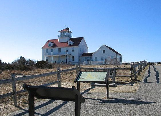 Coast Guard Station at Coast Guard Beach, Eastham