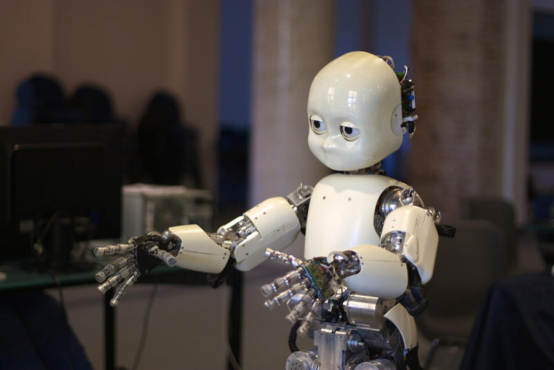 iCub is a humanoid robot