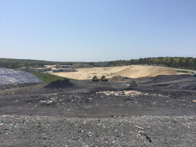 The Bourne landfill takes most of the ash produced by the SEMASS plant in Rochester.