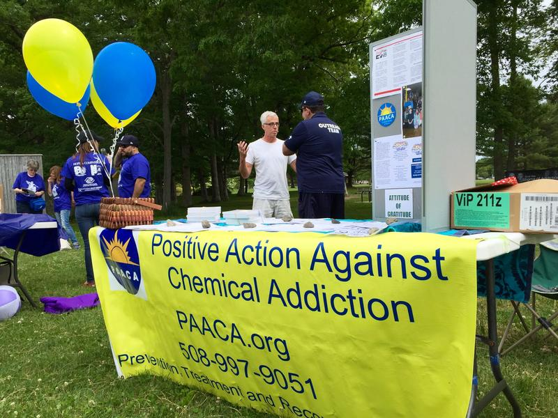 Most of New Bedford's addiction treatment agencies were represented at the event.