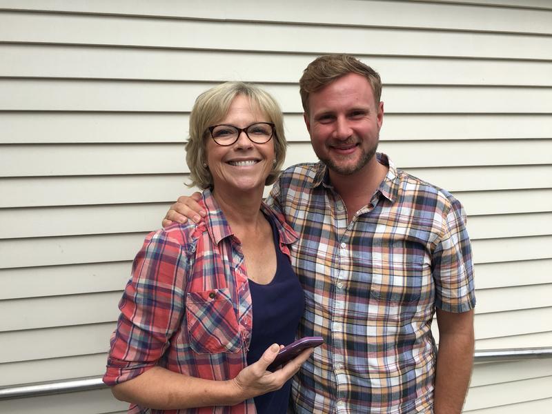 Democratic Candidates Shelia Lyons and Julian Cyr