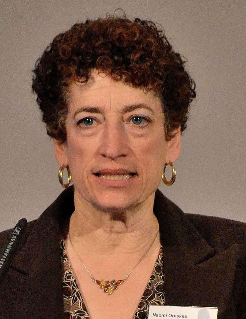 Science historian Naomi Oreskes