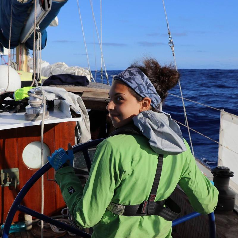 Erica Cirino sailed the Great Pacific Garbage Patch and even ate fish she caught there.
