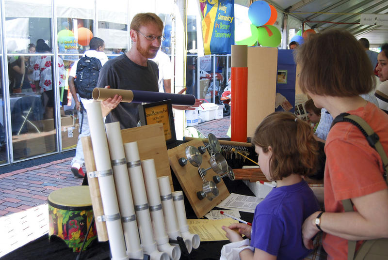 DIYbio Boston at the Cambridge Science Festival, a partner for this year's Science on the Street Cape Cod.