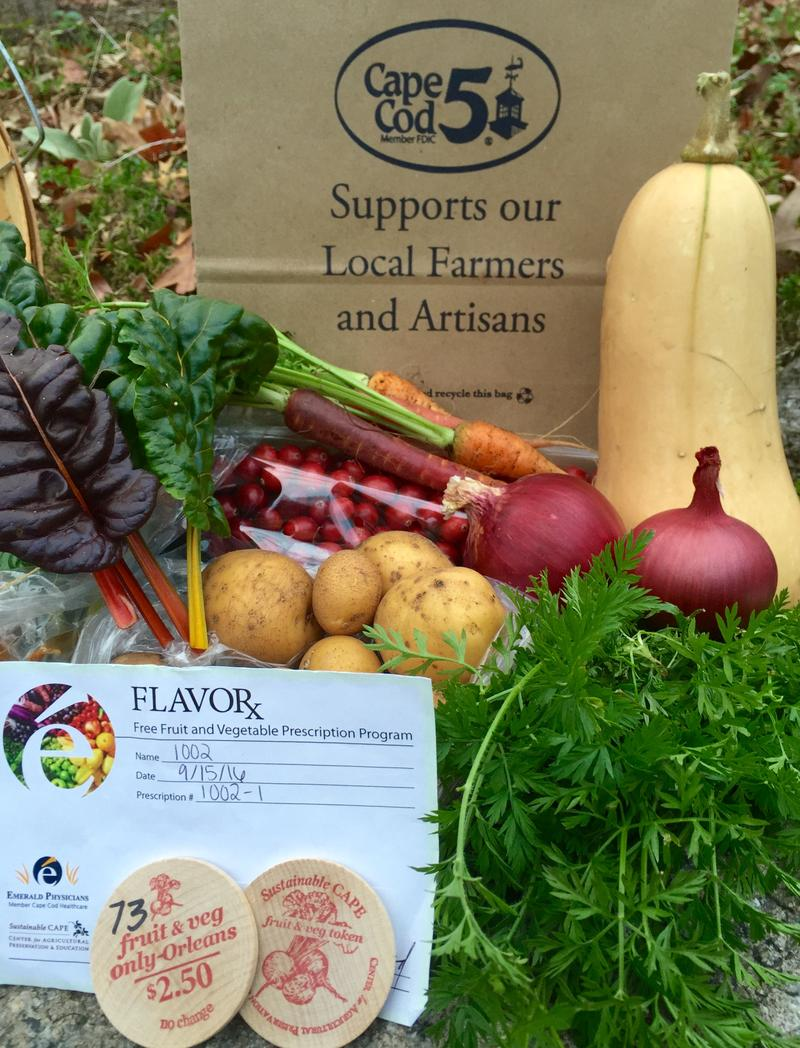 The FlavoRx pilot study provided at-risk patients with prescriptions worth $30 at a farmer's market.