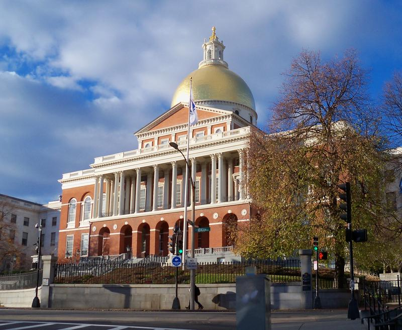 Massachusetts Statehouse on Beacon Hill