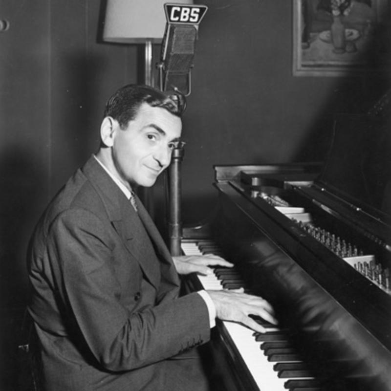 Irving Berlin at the piano