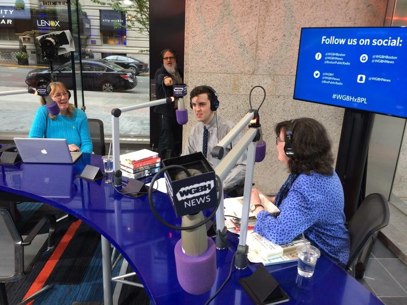 Broadcasting from the Cafe at the BPL