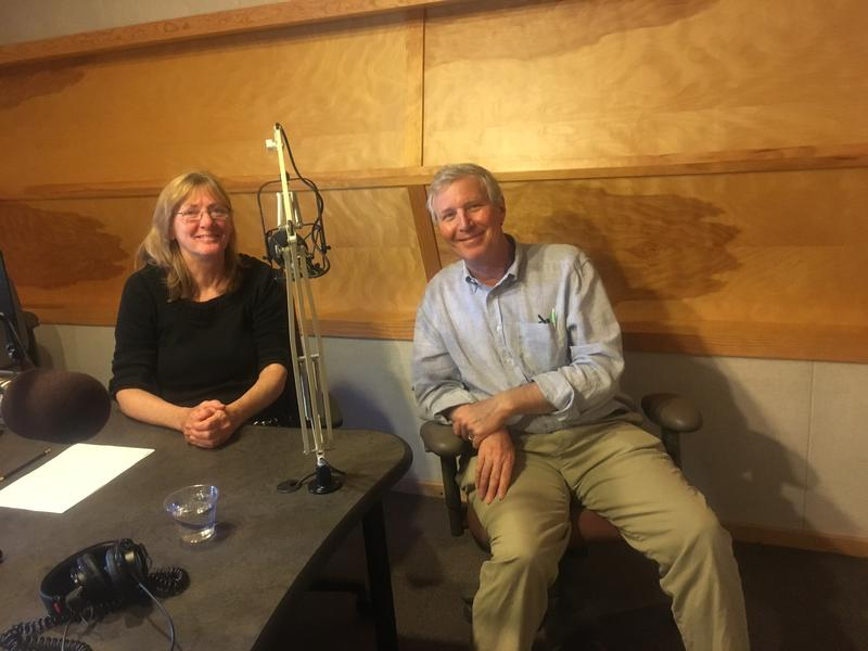 Dr. Peter Hopewood talks with Mindy Todd