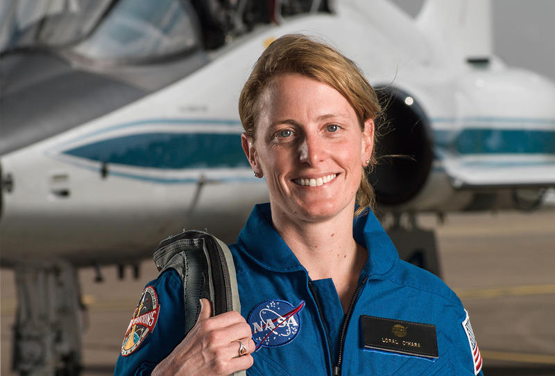 Loral O'Hara, a research engineer at Woods Hole Oceanographic Institution, is one of twelve new NASA astronaut candidates.